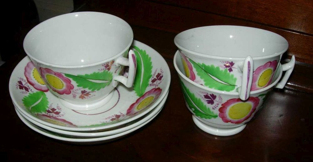 Group of cups and saucers
