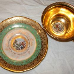 Cabinet cup and saucer