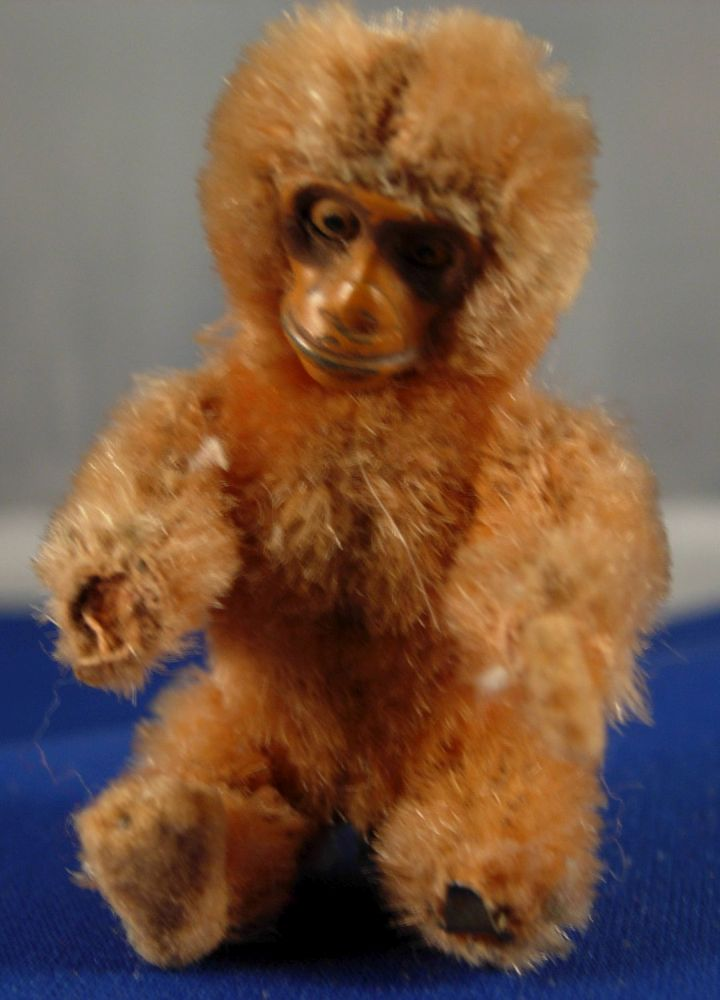 Articulated monkey figure