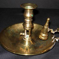 Brass chamberstick