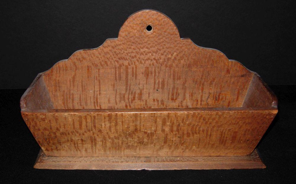 Wooden wall box