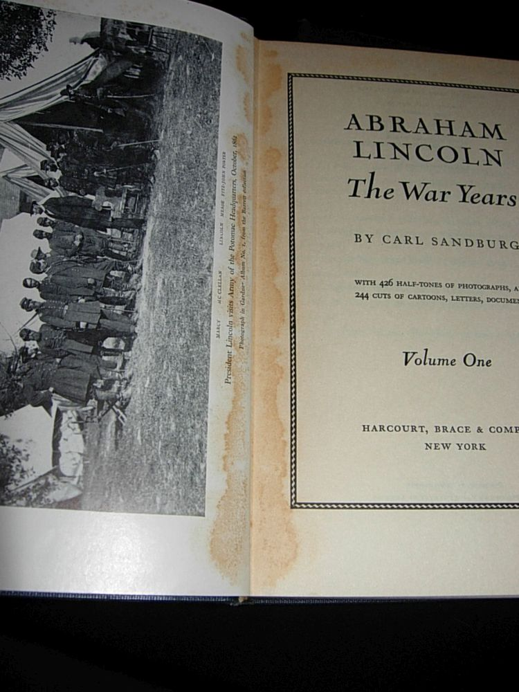 Books Abraham Lincoln Bluebonnet Antiques