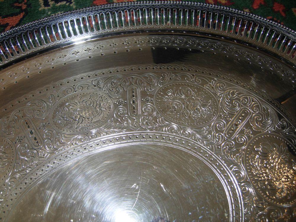 American silverplate holloware